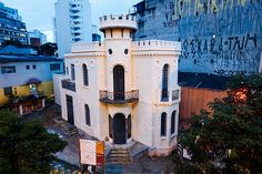 Fachada do Castelinho da rua Apa é restaurada; ainda não há data para abertura do espaço