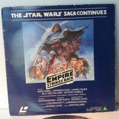Star Wars Empire Strikes Back Rare CBS Fox Laserdisk 1985 | eBay
