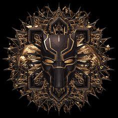 Incredible Illustration for Marvel Black Panther by Billelis ...