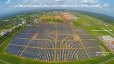 India's first fully solar-powered airport!