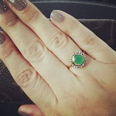 Pretty shot of the Stella & Dot Suzanne Cocktail Ring.