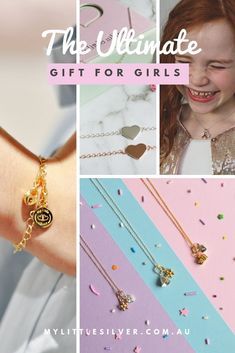 My Little Silver designs children premium quality sterling silver jewellery. We design kids bracelets, necklaces, earrings and charms all perfect for kids gifts Tween Girl Gifts, Tween Girls, Kids Gifts, Gifts For Girls, Sterling Silver Jewelry, Silver Rings, Silver Jewellery, Kids Bracelets, The Ultimate Gift