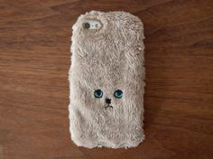 Cat iPhone Cover for iPhone5 / 5c / 5s - Gold at HelloShoppers