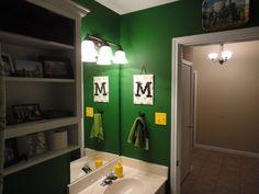 House Makeover John Deere Bathroom