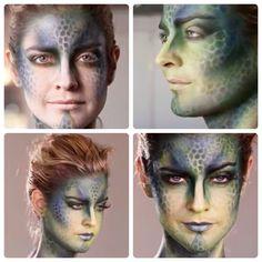 Halloween 2018, Halloween Makeup, Halloween Ideas, Dragon Makeup, Renaissance Fair Costume, Malificent, Scary Makeup, Stuff And Thangs, Fantasy Makeup