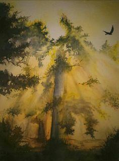 Watercolor 30x40