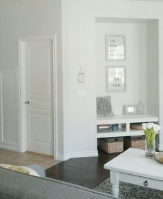 Behr Wall Colors And Silver On Pinterest