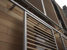 Ducoslide luxframe wood. zonwering