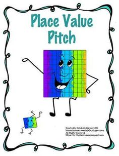 Place Value Pitch FREEBIE game to practice place value