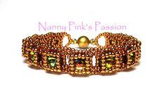 Tutorial Princess Bracelet by NannyPinksPassion on Etsy