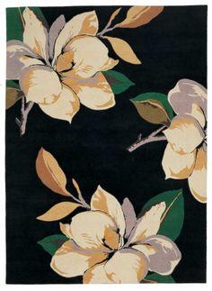 Magnolia Black rug - Vivienne Westwood, The Rug Company