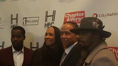 """Harlem turned up and let loose at the red carpet premiere of """"Chapter and Verse"""" at Mist Harlem."""