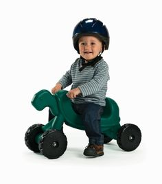 Make way for the Tortoise Ride-On! It's a fun scooter any child age 18 months and up are sure to love! It's bright green color adds appeal, while the heavy duty wheels provide long-lasting fun! #scooters