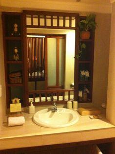 Ensuite at Victoria resort hoi an Hoi An, Vietnam, Vanity, Victoria, Mirror, Bathroom, Furniture, Home Decor, Dressing Tables