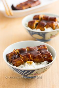 The sweet sauce of Unagi Don (Eel Rice Bowl) dressed on top of the fish, is addictively good, just like teriyaki sauce.