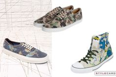 Trainers | StyleCard Fashion Portal    http://style-card.co.uk/portal/2013/01/mens-monday-trends-statement-trainers/