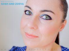 Blue fall make up with Zoeva Luxe Cream Listick ang eyshadows from Gosh Cosmetics Gosh Cosmetics, Makeup Looks, Make Up, Cream, Fall, Blue, Creme Caramel, Autumn, Fall Season