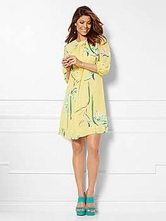 Shop Eva Mendes Collection - Sabrina Dress - Floral. Find your perfect size online at the best price at New York & Company.