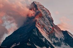 Matterhorn by Alexey Pekhov, via 500px