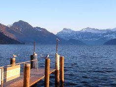 * Lago Lucerna * = * Lago dos Quatro Cantões * # Suíça.