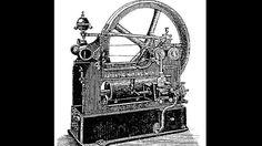 """Siegfried Marcus und die geheime Zauberkraft.Die Abbildung zeigt einen von Siegfried Marcus erfundenen Viertaktmotor. Aber war er wirklich früher dran mit der Erfindung des Benzin-Automobils als die weltbekannten Herren Daimler und Benz? Glaubt man einem Zeitzeugen, lautet die Antwort """"ja"""". In seinen Memoiren glaubt sich der Schriftsteller Emil Ertl an die Fahrt mit einem Marcus-Wagen im Jahr 1871 zu erinnern: """"Wir fuhren! Fuhren ohne Pferde dahin! Fuhren wie durch geheime Zauberkraft…"""