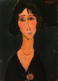 'La Jeune Fille à la Rose' - Amedeo Modigliani.