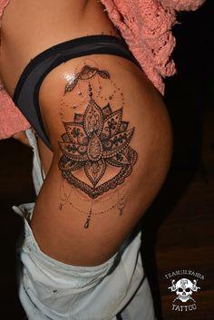 #Lotus #mandala #tattoo  Www.transilvaniatattoo.ro