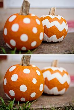 Painted Pumpkins for the holidays!