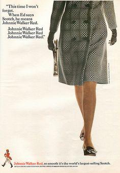 Vintage Johnnie Walker ad