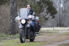 Love this pic from a small country road in Georgia during photo shoot with #TriumphAmerica!