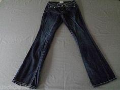 Aeropostale Jeans Hailey Flare Curvey Size 0 Long