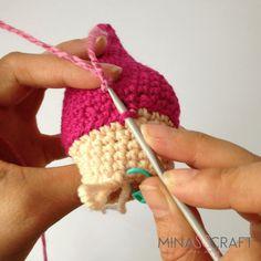 Sandra The Mermaid Amigurumi Sandro, Fingerless Gloves, Arm Warmers, Crochet Necklace, Mermaid, Knitting, Mini, Wings, Tutorial Crochet