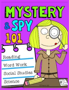Fun with Mysteries is part of Detective themed classroom, Mystery science, Mystery, Spy training, Reading words, Social science Do you have junior secret agents in your class this year These are st - #Detectivethemed #classroom Mystery Science, Social Science, Teaching Resume, Kids Book Club, Third Grade Science, Reading Words, Classroom Fun, Word Work, Reading Comprehension