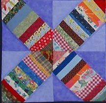 String-X Quilt Block Tutorial from Quiltville Custom Quilting