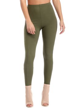 Olive On The Double Leggings