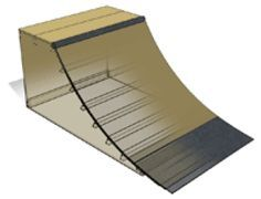 How to Build a Skateboard Quarter Pipe Ramp: How to Build a 3' Quarter Pipe: Materials Needed