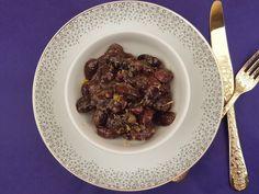 Haricots noirs de Prespon stifado- Mavri gigantes Prespon stifado Beef, Food, Black Beans, Beef Bourguignon, Meat, Recipes, Kitchens, Essen, Meals