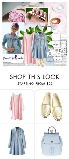 """""""Beautifulhalo 4"""" by missoumiss ❤ liked on Polyvore featuring moda, Chanel, Dolce&Gabbana, SHOUROUK, women's clothing, women, female, woman, misses i juniors"""