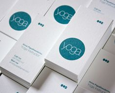 Yoga business card by pndesign (via Creattica)