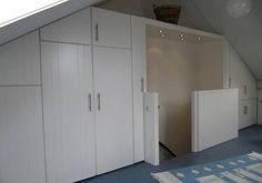 Foto: Inbouwkast zolder. Geplaatst door Mal1 op Welke.nl
