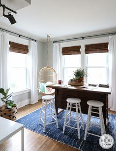 Painter's Cotton + Wool Rug from west elm