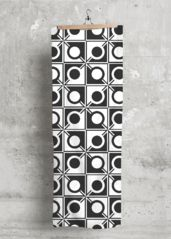 Connecting #Circles #scarf - #stunning #black and #white product!
