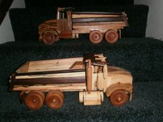 dump trucks - by wiswood2 @ LumberJocks.com ~ woodworking community