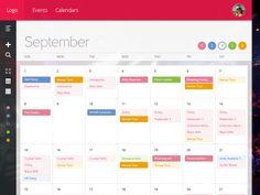 Booking Calendar: Month