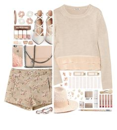 """""""1795 // C h a b a z i t e"""" by arierrefatir ❤ liked on Polyvore featuring Miu Miu, Gianvito Rossi, Forever 21, Tory Burch, STELLA McCARTNEY, Christian Dior, This Works, Casetify, atelier tete and H&M"""