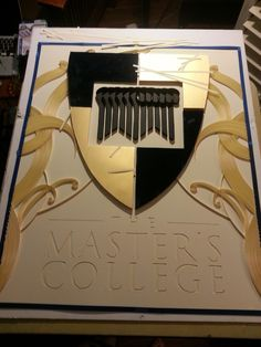 The Making of 'The Master's College' quilling