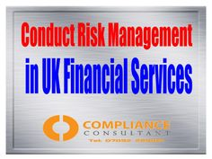 """Conduct Risk: How to build an effective framework Conduct Risk is the buzz phrase in the financial services world today. Throughout the recruitment job boards and ringing around the recruiters offices abound the titles of """"Conduct Risk Managers"""" or """"Head of Conduct Risk""""; but very few seem to know what this involves precisely."""