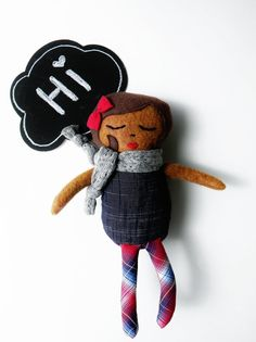 Mademoiselle Angelique Doll by thatgirl99 on Etsy, $25.00