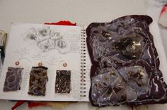 A level Textiles; Durham High School for Girls, Jenni Sneddon A Level Sketchbook, Textiles Sketchbook, Fashion Sketchbook, Fashion Sketches, Textile Design, Textile Art, Sketchbook Inspiration, Sketchbook Ideas, A Level Textiles