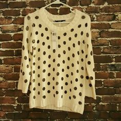 ~Host Pick~ Kensie Sweater Brand new with tags!  100% acrylic Size Xs but should fit a small Kensie Sweaters Crew & Scoop Necks